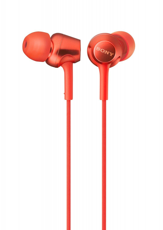 ყურსასმენი SONY MDR-EX255APR.E red